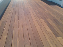 Photo: Deck After refinishing & Staining